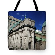 Mary Queen Of The World Cathedral Montreal Tote Bag