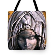 Mary Super Petram - Study No. 1 Tote Bag by Steve Bogdanoff
