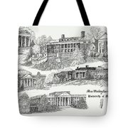 Mary Washington College Tote Bag