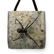 Maryland Black Widow Tote Bag