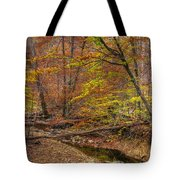 Maryland Country Roads - Autumn Colorfest No. 7 - Catoctin Mountains Frederick County Md Tote Bag