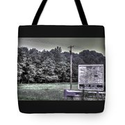 Maryland Country Roads - Why We Are Where We Are Tote Bag