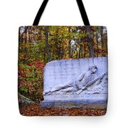 Maryland Monument At Gettysburg Tote Bag