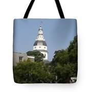 Maryland State House Cupola Tote Bag