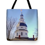 Maryland State House Dome Tote Bag