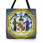 Maryland State Seal Tote Bag