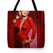 Marylin Monroe Tote Bag