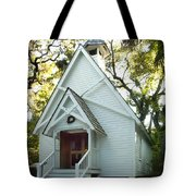 Mary's Chapel Tote Bag