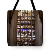 Mary's Deathbed Religious Art In Oude Kerk Tote Bag
