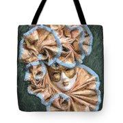 Maschera Di Carnevale Tote Bag