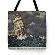 Masefield Sea Fever, 1902 Tote Bag