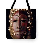 Mask From Ivory Coast Tote Bag