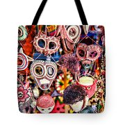 Mask Me In El Casco By Diana Sainz Tote Bag
