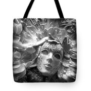 Masked Angel Tote Bag