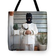 Masked First Communion Tote Bag