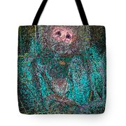 Lady Behind The Mask Tote Bag