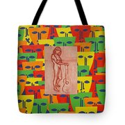Masks 2 Tote Bag by Patrick J Murphy