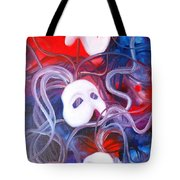 Masks 4 Tote Bag