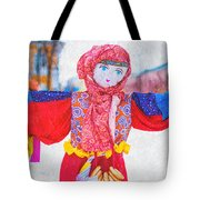 Maslenitsa Dolls 4. Russia Tote Bag