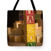 Mason - Alphabet Blocks Tote Bag