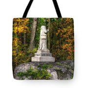 Massachusetts At Gettysburg - 37th Mass. Infantry Autumn Early-evening Sedgwick Avenue Tote Bag