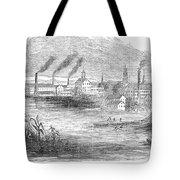 Massachusetts Lawrence Tote Bag