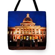 Massachusetts State House Tote Bag by John McGraw