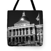 Massachusetts State House Tote Bag