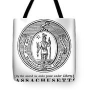 Massachusetts State Seal Tote Bag