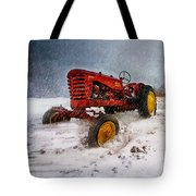 Massey Harris Mustang Tote Bag