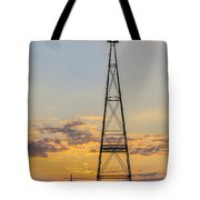 Massey Windmill Silhouette Tote Bag