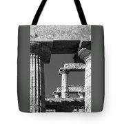 Massive Columns Of Paestum Tote Bag