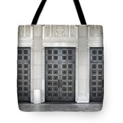 Massive Doors Tote Bag
