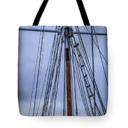 Mast And Rigging Series Number Two Tote Bag
