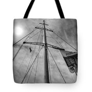 Mast Of Yacht Tote Bag
