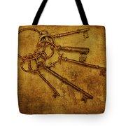 Master Keys Tote Bag