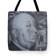 Master Of Suspense Tote Bag by Jeremy Reed