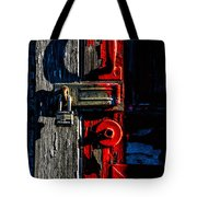 Master Of The Old Red Barn Tote Bag