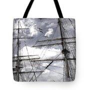 Masts Of Sailing Ships Tote Bag