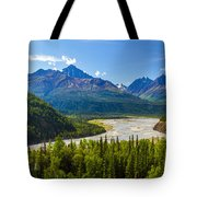 Matanuska River Tote Bag