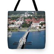 Matanzas Harbor St Augustine Florida Tote Bag