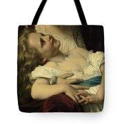 Maternal Affection Detail Tote Bag