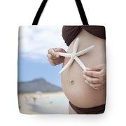 Maternity At Beach Tote Bag