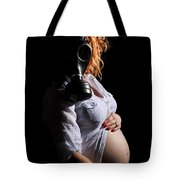 Maternity Gas Mask Tote Bag