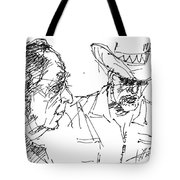 Math Teacher And The Magician Tote Bag