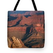 Mather Point At Sunrise On The Grand Canyon Tote Bag