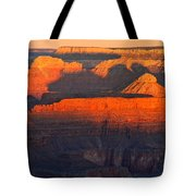 Mather Point Sunrise Grand Canyon National Park Tote Bag