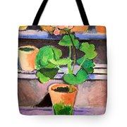 Matisse's Pot Of Geraniums Tote Bag