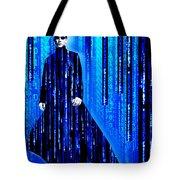 Matrix Neo Keanu Reeves 2 Tote Bag