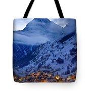 Matterhorn At Twilight Tote Bag